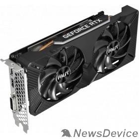 Видеокарта PALIT GeForce RTX2060 DUAL  6GB 192bit GDDR6 DVI, HDMI, DP Ret NE62060018J9-1160A-1