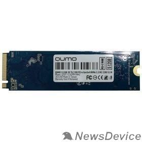 накопитель QUMO M.2 SSD 512GB Novation Q3DT-512GPPH-NM2 NVMe PCIe Gen3x4 NVMe 1.3 M2 2280