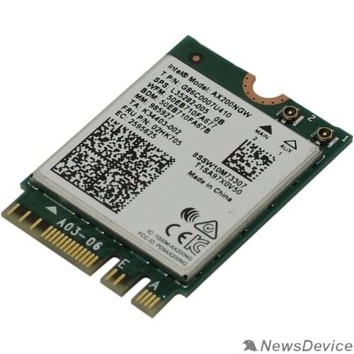 Компьютер Wi-Fi адаптер AX200 PCIE M.2 AX200.NGWG.NV 985927 INTEL