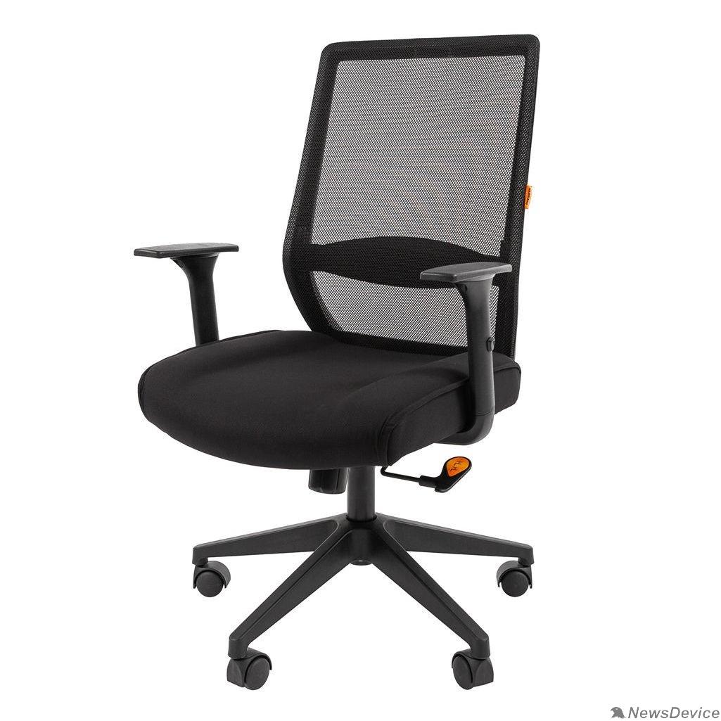 Офисные кресла Офисное кресло Chairman    555    Россия   LT   TW черный (7062966)