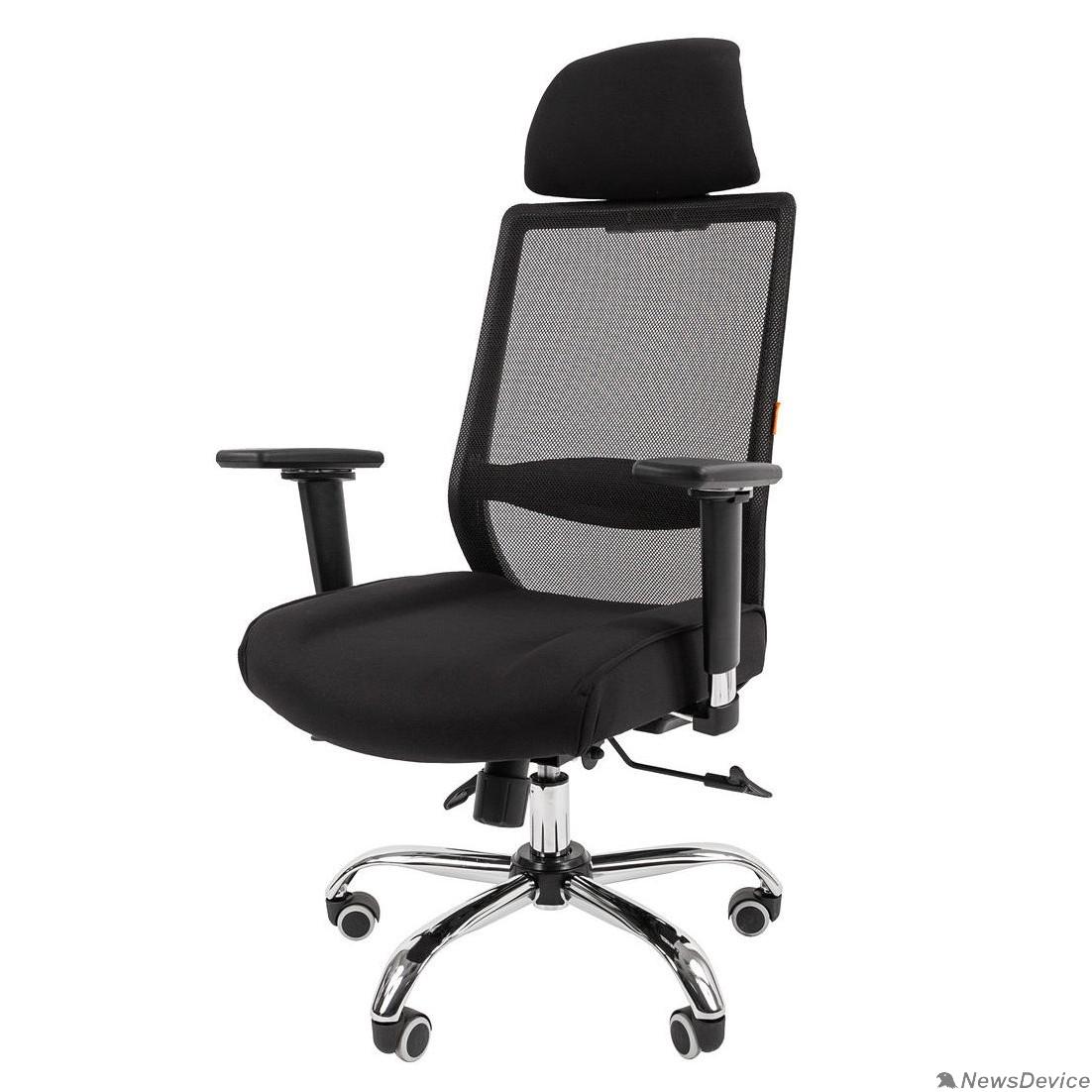 Офисные кресла Офисное кресло Chairman    555    Россия   LUX   TW черный   (7062965)