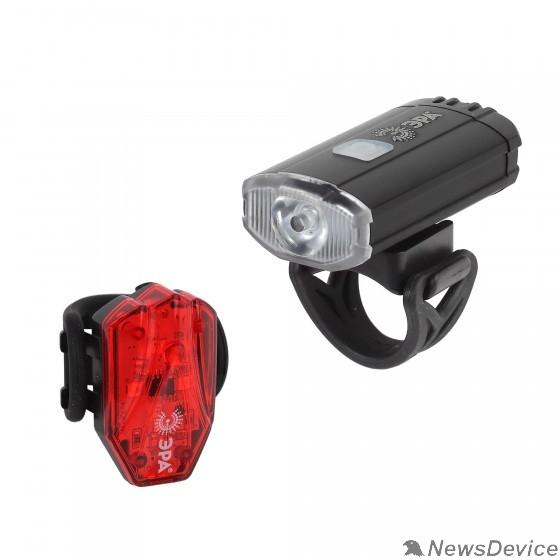 Фонари ЭРА Б0039624 Фонарь VA-801 Вело  2 в 1 Основной CREE XPG + подсветка SMD,  mocro USB, 800mA/ч., бл