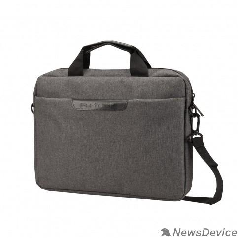 "Сумка для ноутбука Сумка PORTCASE KCB-164 Grey(нейлон, серая до 14"")"