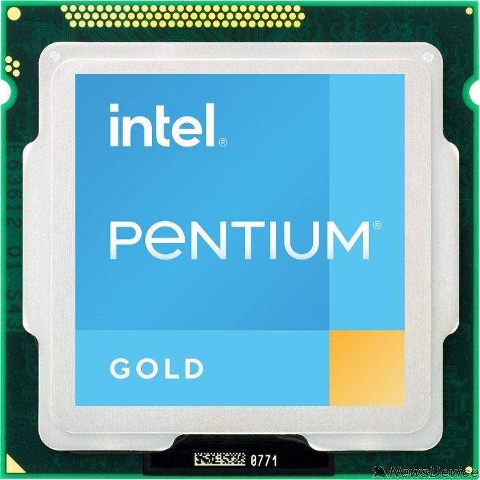 Процессор CPU Intel Pentium Gold G6405 Comet Lake OEM 4.1ГГц, 4МБ, Socket1200