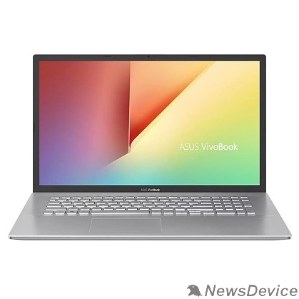 "Ноутбук ASUS D712DA-AU077T 90NB0PI1-M06340 Transparent Silver 17.3"" FHD Ryzen 7-3700U/8Gb/512Gb SSD/W10"