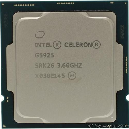Процессор CPU Intel Celeron G5925 Comet Lake BOX