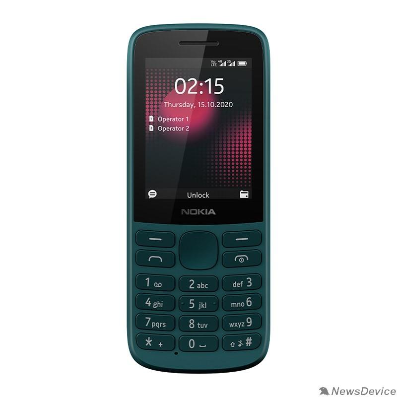 Мобильный телефон Nokia 215 4G DS Cyan 16QENE01A01