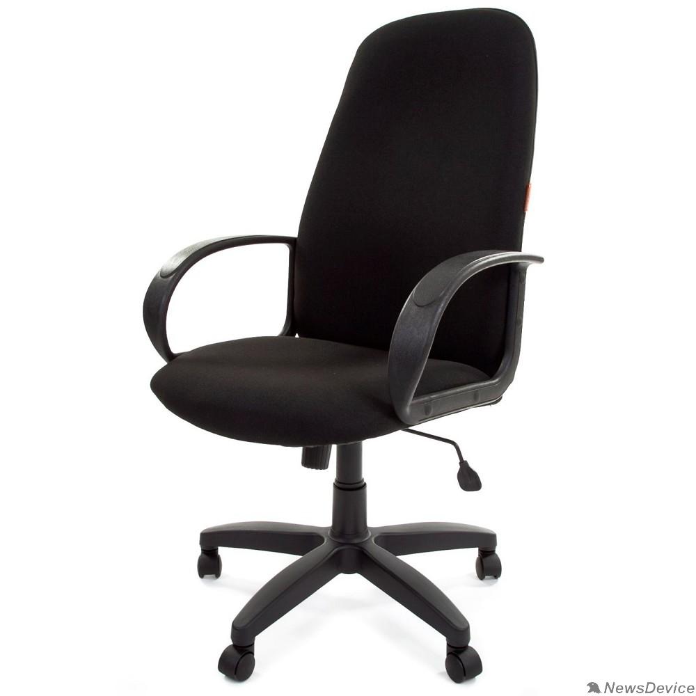 Офисные кресла Офисное кресло Chairman   279        Россия C-3 черный  (6014728)