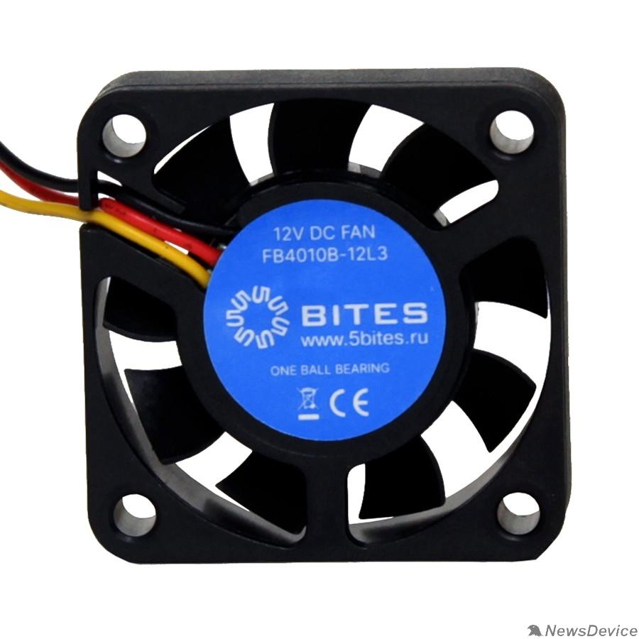 Вентиляторы 5bites Вентилятор FB4010B-12L3 40X10 / BALL / 6000RPM / 3P