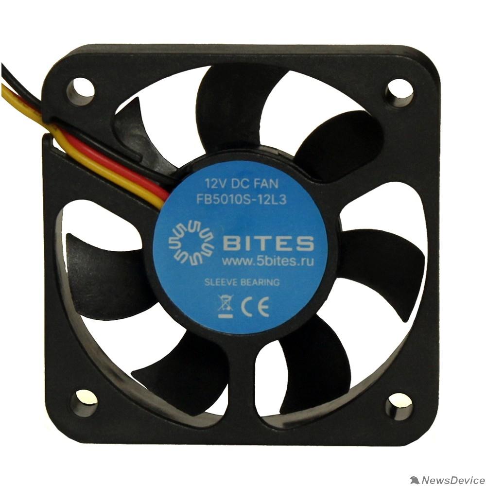 Вентиляторы 5bites Вентилятор FB5010S-12L3 50X10 / SLEEVE / 4200RPM / 3P