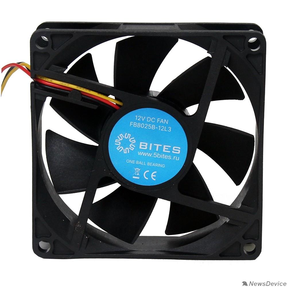 Вентиляторы 5bites Вентилятор FB8025B-12L3 80X25 / BALL / 2000RPM / 3P