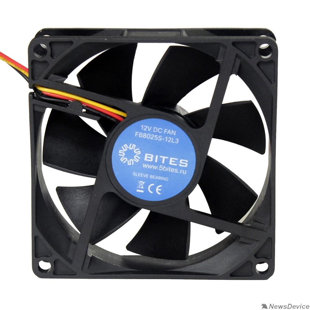 Вентиляторы 5bites Вентилятор FB8025S-12L3 80X25 / SLEEVE / 2000RPM / 3P