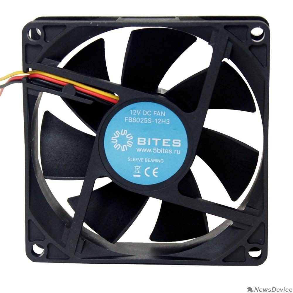 Вентиляторы 5bites Вентилятор FB8025S-12H3 80X25 / SLEEVE / 3000RPM / 3P