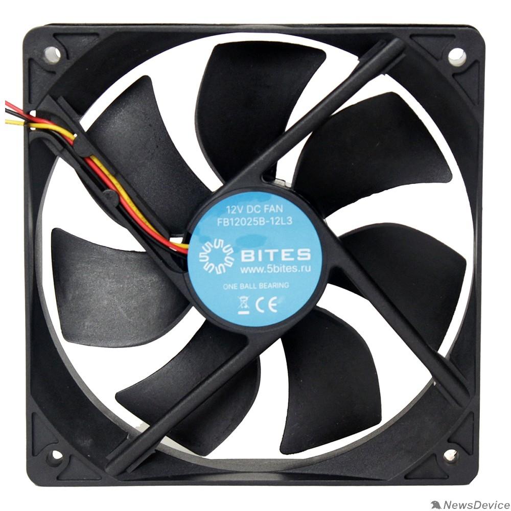 Вентиляторы 5bites Вентилятор FB12025B-12L3 120X25 / BALL / 1200RPM / 3P