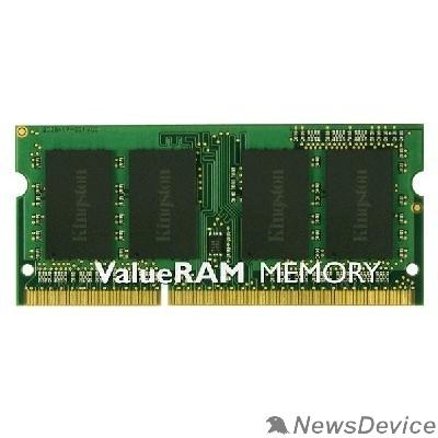 Модуль памяти Kingston DDR3 SODIMM 4GB KVR16S11S8/4WP PC3-12800, 1600MHz