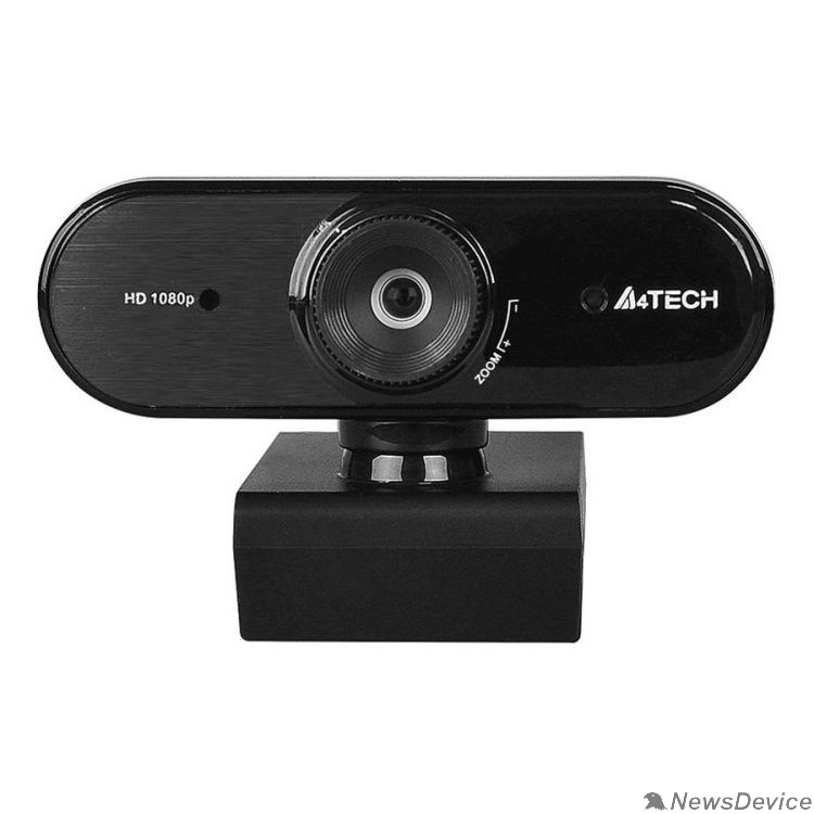 Цифровая камера Web-камера A4Tech PK-935HL черный, 2Mpix, 1920x1080, USB2.0, с микрофоном 1407220