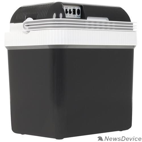Разное  MYSTERY MTC-24 grey  Автомобильный термоэлектрический холодильник. Объем 24 литра. Максимальное охлаждение: 14-16°C  серый