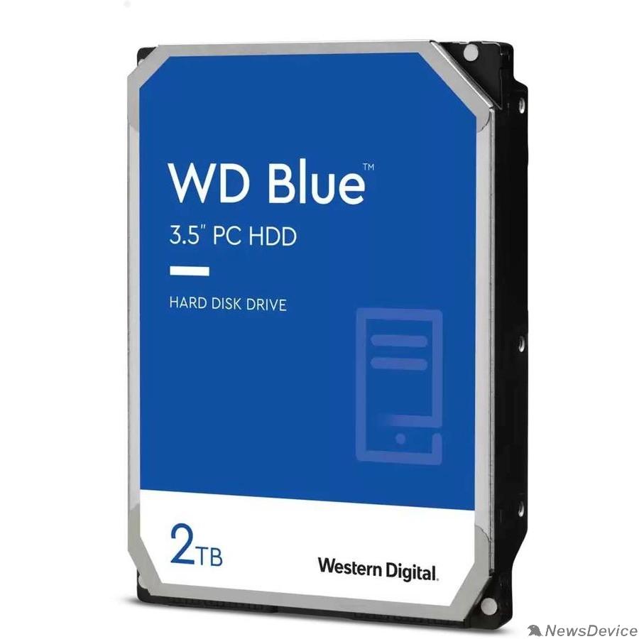 Жесткий диск 2TB WD Blue (WD20EZBX) Serial ATA III, 7200 rpm, 256Mb buffer