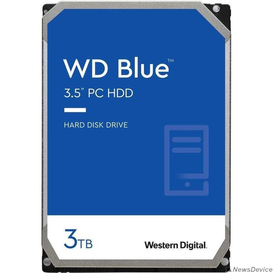 Жесткий диск 3TB WD Blue (WD30EZAZ) Serial ATA III, 5400 rpm, 256Mb buffer