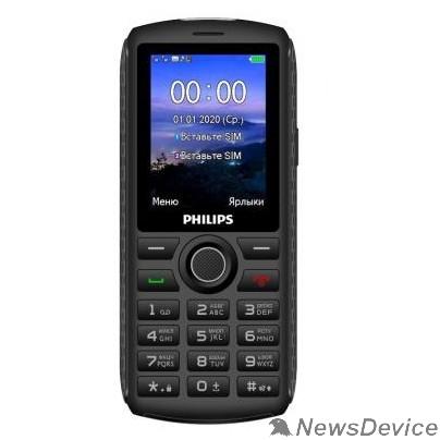 Мобильный телефон Philips Xenium E218 Dark Grey