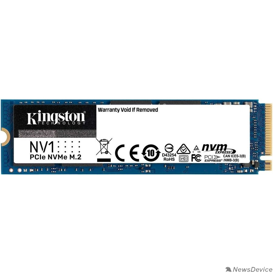 накопитель Kingston SSD 1Tb M.2 SNVS/1000G NV1 M.2 2280 NVMe