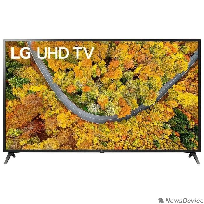 "Телевизор LG 70"" 70UP75006LC черный Ultra HD/50Hz/DVB-T/DVB-T2/DVB-C/DVB-S/DVB-S2/USB/WiFi/Smart TV (RUS)"