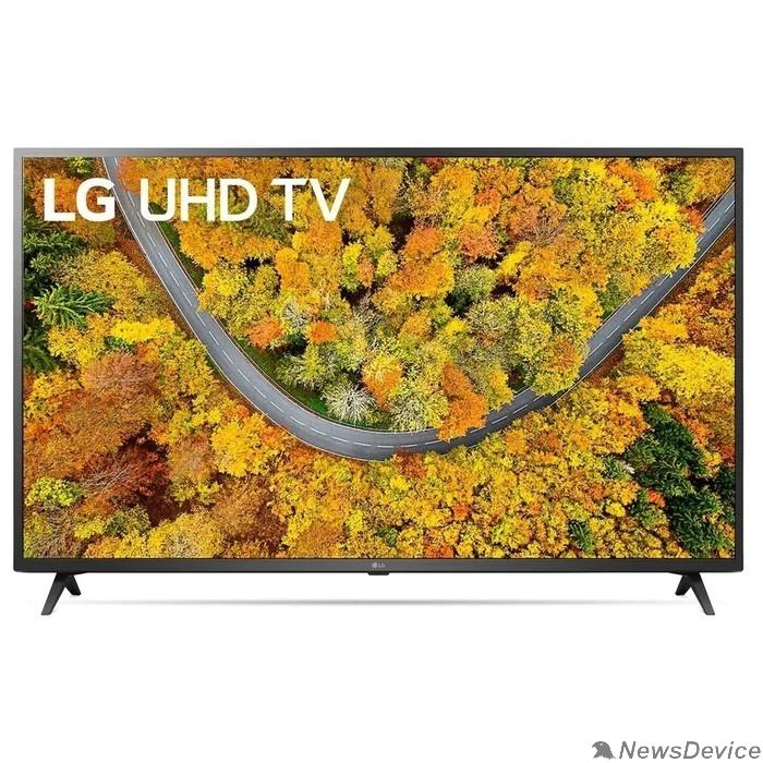 """Телевизор LG 65"""" 65UP75006LF черный Ultra HD/50Hz/DVB-T/DVB-T2/DVB-C/DVB-S/DVB-S2/USB/WiFi/Smart TV (RUS)"""