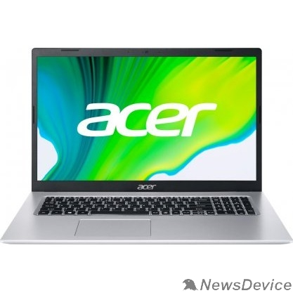 "Ноутбук Acer Aspire 5 A517-52-51DR NX.A5BER.003 Silver 17.3"" FHD i5 1135G7/8Gb/256Gb SSD/Win10Pro"