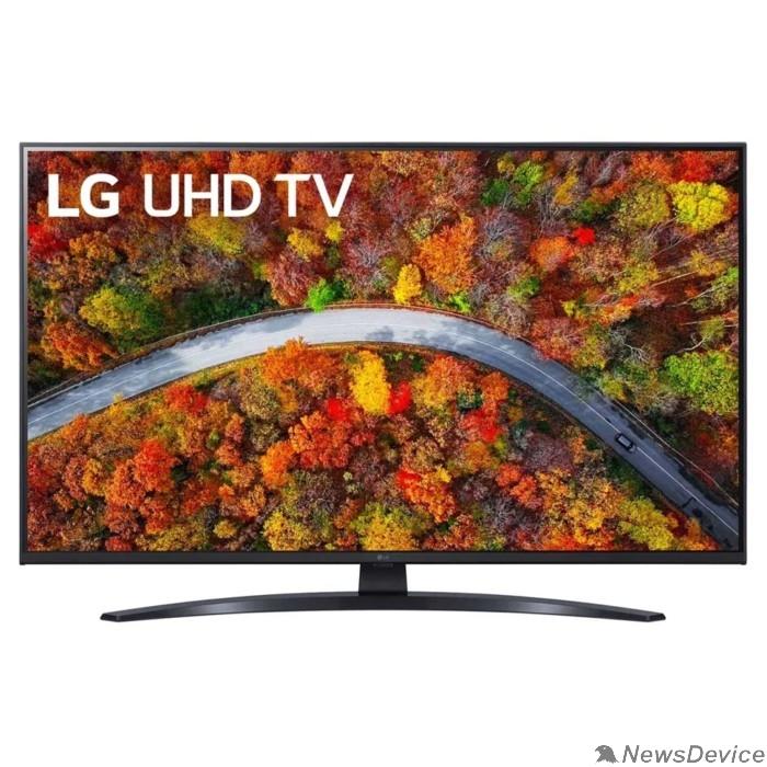 """Телевизор LG 43"""" 43UP81006LA черный Ultra HD/50Hz/DVB-T/DVB-T2/DVB-C/DVB-S/DVB-S2/USB/WiFi/Smart TV (RUS)"""