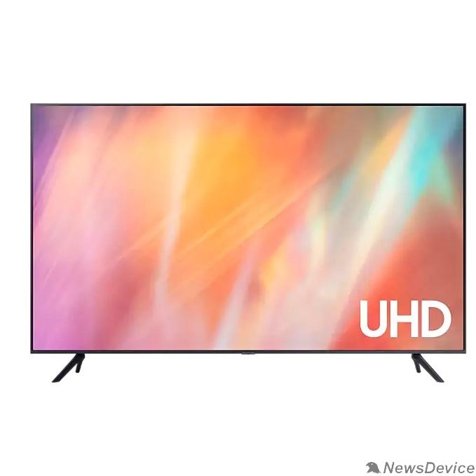 "Телевизор Samsung 43"" UE43AU7100UXRU титан Ultra HD/60Hz/DVB-T2/DVB-C/DVB-S2/USB/WiFi/Smart TV (RUS)"