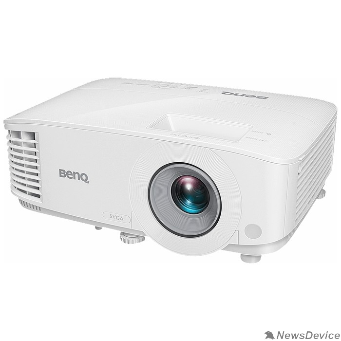 Проектор BenQ MS550 Проектор портативный 9H.JJ477.1HE (1DLP; SVGA (800х600);  3 600 ANSI; лампа; 5 000/10.000/15000 ч (Стд/Эко/Смарт); 20 000:1; Объектив 1,96-2,15; Динамик 2Вт;2.3кг