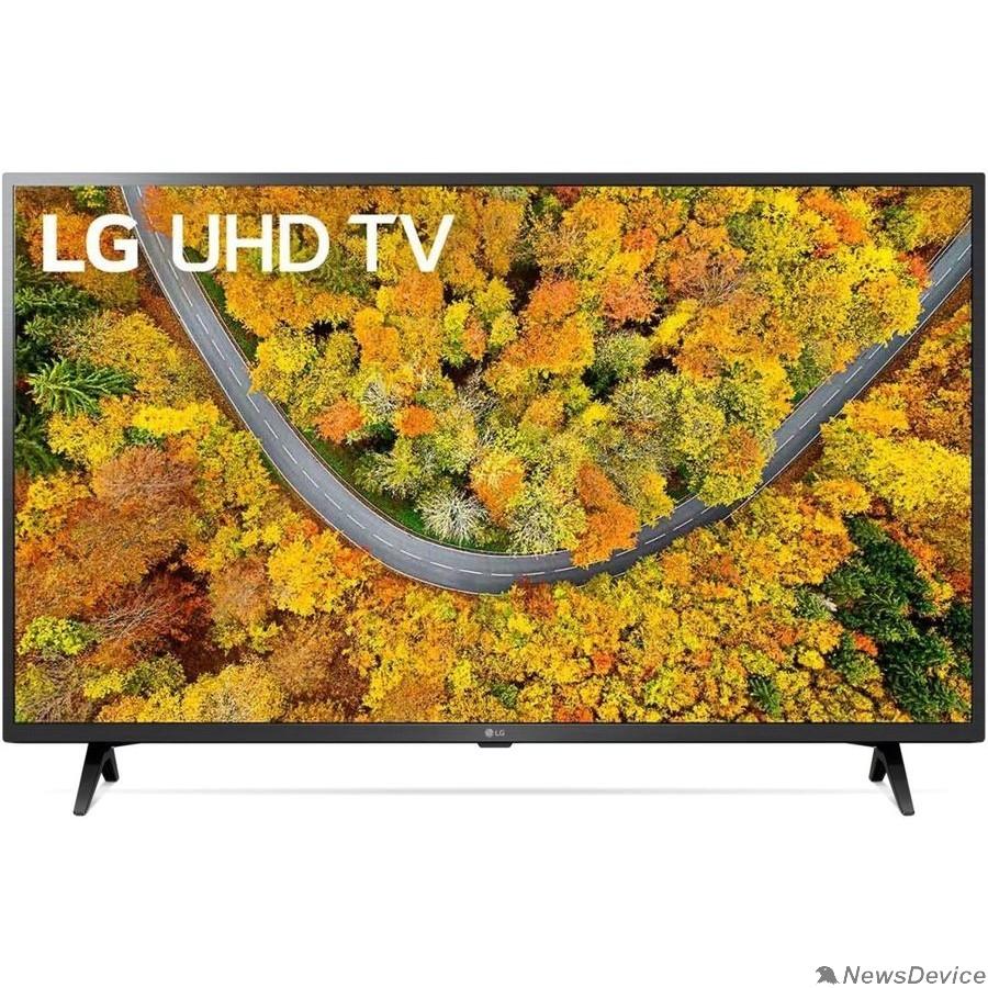 "Телевизор LG 43"" 43UP76006LC черный Ultra HD/50Hz/DVB-T/DVB-T2/DVB-C/DVB-S/DVB-S2/USB/WiFi/Smart TV (RUS)"