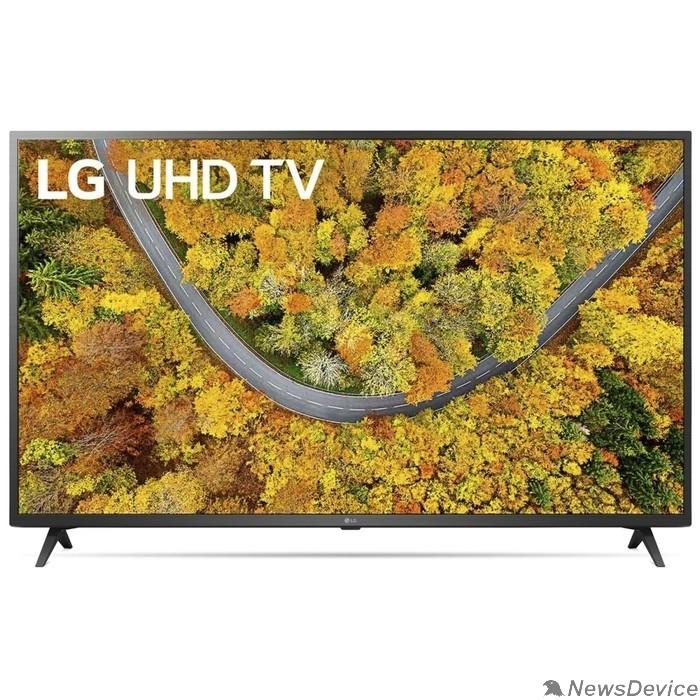 "Телевизор LG 55"" 55UP76006LC черный Ultra HD/50Hz/DVB-T/DVB-T2/DVB-C/DVB-S/DVB-S2/USB/WiFi/Smart TV (RUS)"