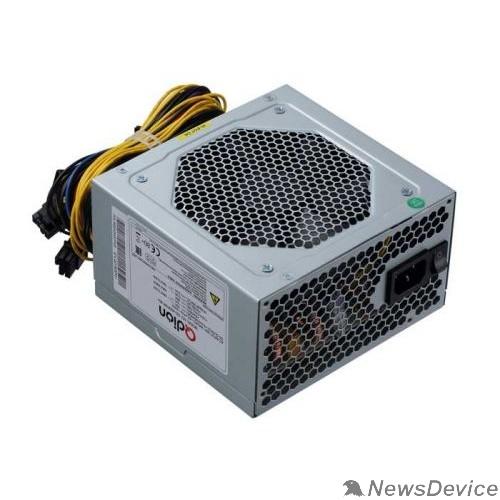 Блок питания  Блок питания Qdion ATX 500W Q-DION QD500-PNR 80+ 80+ (24+4+4pin) APFC 120mm fan 5xSATA