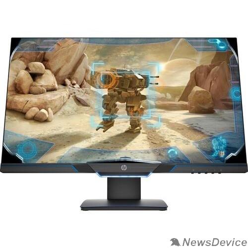 Монитор LCD HP 27'' 27mx Черный  TN 1920x1080 144hz 1ms 400cd 1000:1 170/160 8bit(6bit+FRC) HDMI2.0 DisplayPort1.2 FreeSync AudioOut VESA4KK74AA