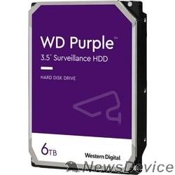"Жесткий диск 6TB WD Purple (WD62PURX) Serial ATA III, 5400- rpm, 128Mb, 3.5"""