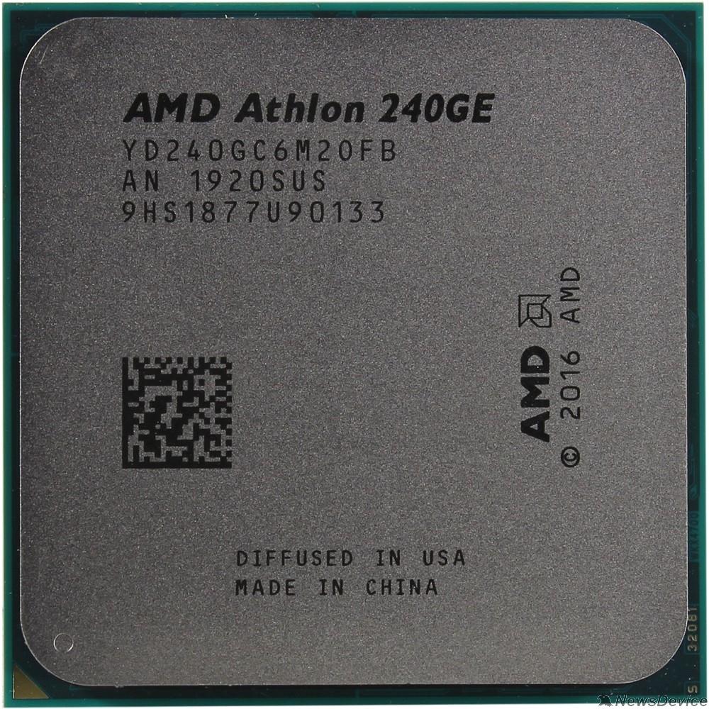 Процессор CPU AMD Athlon 240GE AM4 OEM