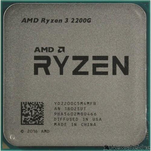 Процессор CPU AMD Ryzen 3 2200GE OEM