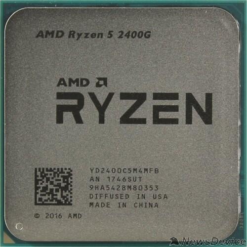 Процессор CPU AMD Ryzen 5 PRO 2400GE OEM