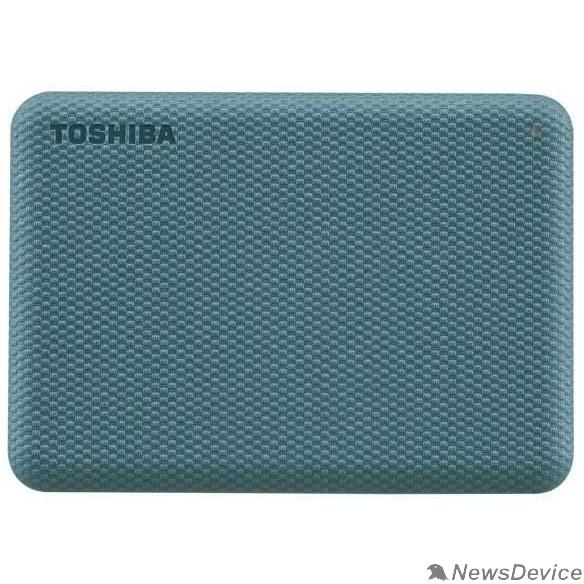 "носитель информации TOSHIBA HDTCA40EG3CA Canvio Advance 4ТБ 2.5"" USB 3.0 Green"