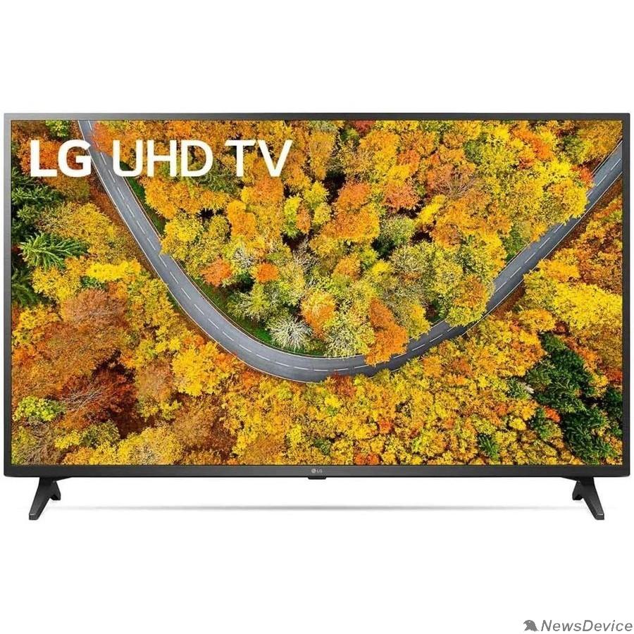 """Телевизор LG 43"""" 43UP75006LF черный Ultra HD/50Hz/DVB-T/DVB-T2/DVB-C/DVB-S/DVB-S2/USB/WiFi/Smart TV (RUS)"""