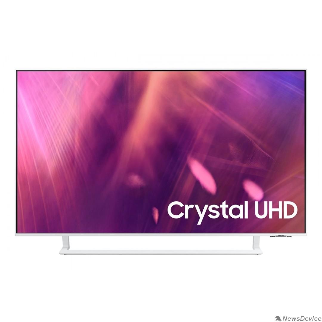 "Телевизор Samsung 43"" UE43AU9010UXRU белый Ultra HD/60Hz/DVB-T2/DVB-C/DVB-S2/USB/WiFi/Smart TV (RUS)"
