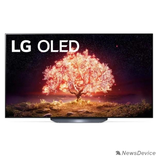 "Телевизор LG 55"" OLED55B1RLA серебристый Ultra HD/100Hz/DVB-T2/DVB-C/DVB-S2/USB/WiFi/Smart TV (RUS)"