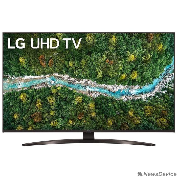 "Телевизор LG 43"" 43UP78006LC черный Ultra HD/50Hz/DVB-T/DVB-T2/DVB-C/DVB-S/DVB-S2/USB/WiFi/Smart TV (RUS)"