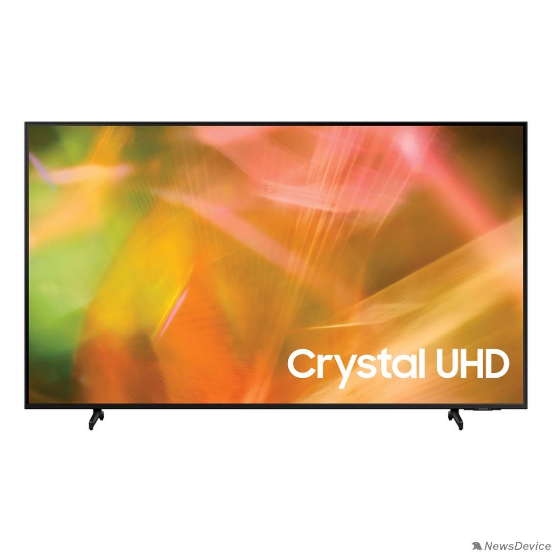 "Телевизор Samsung 43"" UE43AU8000UXRU черный Ultra HD/60Hz/DVB-T2/DVB-C/DVB-S2/USB/WiFi/Smart TV (RUS)"