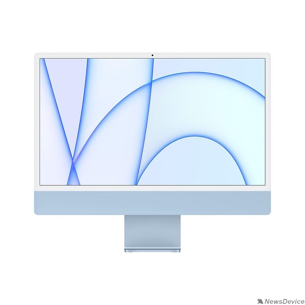 "Моноблок Apple iMac Z12W000BV, Z12W/1 Blue 24"" Retina 4.5K M1 chip with 8 core CPU and 8 core/16GB/256GB SSD/LAN (2021)"