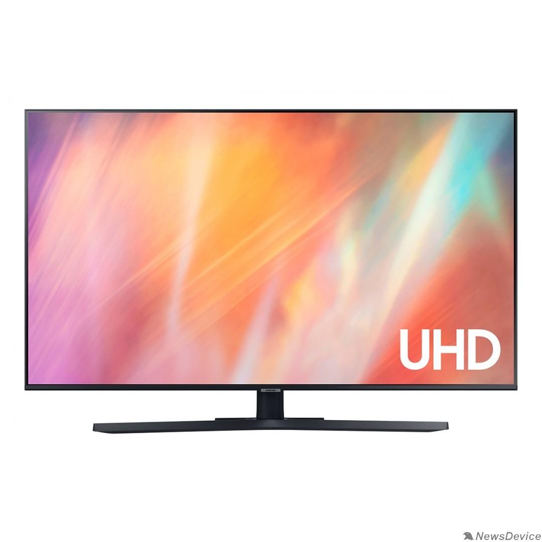 "Телевизор Samsung 43"" UE43AU7500UXRU черный Ultra HD/60Hz/DVB-T2/DVB-C/DVB-S2/USB/WiFi/Smart TV (RUS)"