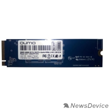 накопитель QUMO M.2 SSD 1TB PCIe Gen4x4 NVMe 1.4 Novation TLC 3D Q3DT-1000GPP4-NM2