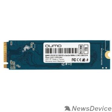 накопитель QUMO M.2 SSD 1TB PCIe Gen3x4 NVMe 1.3 Novation Q3DT-1TPPH-NM2