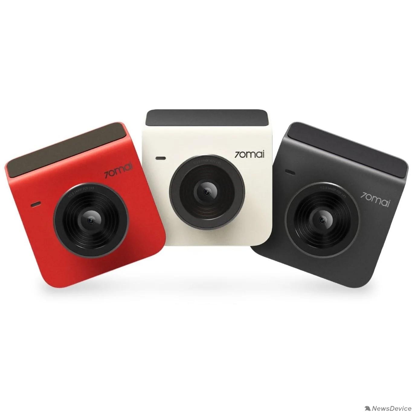 видеорегистратор Видеорегистратор 70mai Dash Cam Midrive A400 Red